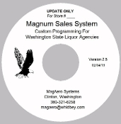 The Magnum Sales system Liquor Store Software Version 2.5.